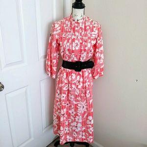 Vtg Casi Designer Dress